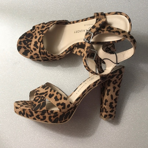 Chinese Laundry Shoes | Leopard Heels
